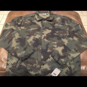 Vans Camouflage Coaches Jacket Size XL Men's NWT